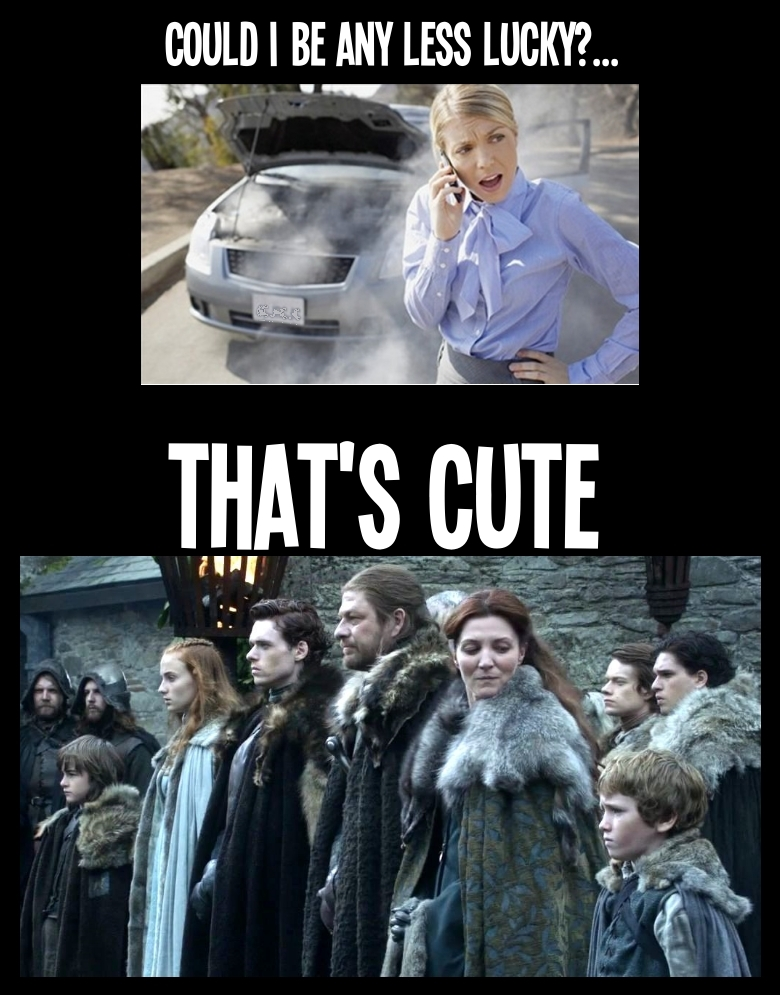 Game of Thrones that's cute